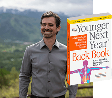 Dr. Jeremy James and The Younger Next Year Back Book
