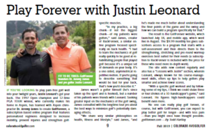 Play Forever with Justin Leonard