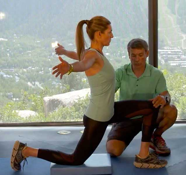 a stretch for flexibility to help with golf