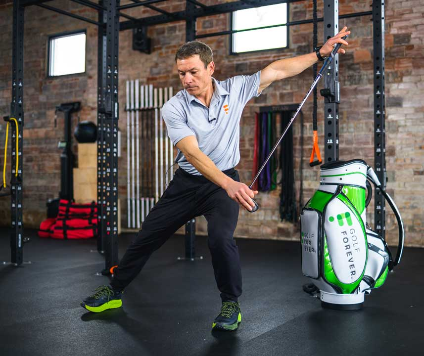 golf swing exercise to boost swing speed
