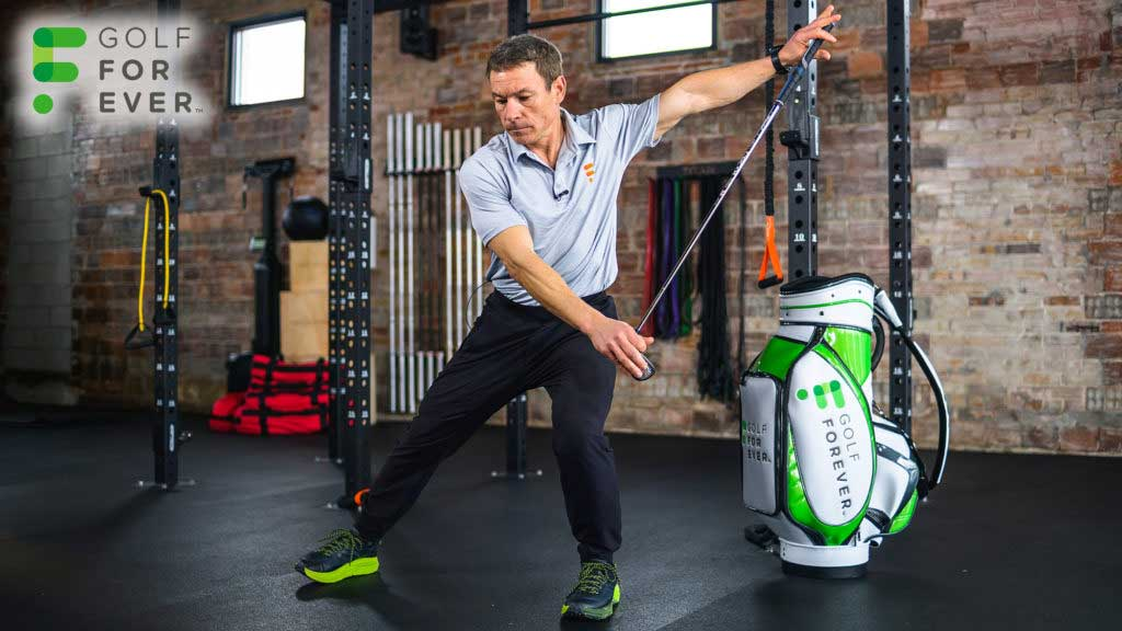 GolfForever at-home golf fitness and pain relief program
