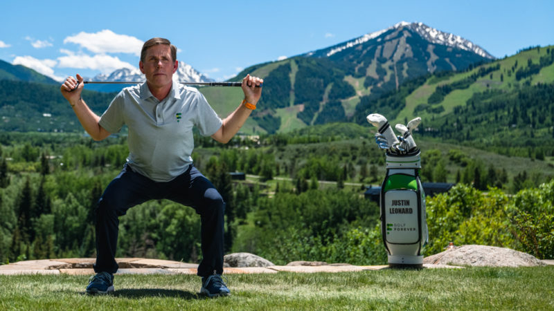 Justin Leonard Golf Exercise